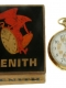 Zentith 14k pocketwatch chrono